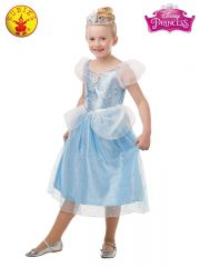 CINDERELLA GLITTER AND SPARKLE COSTUME- SIZE 3-5YEARS