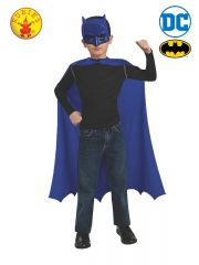 CHILD BATMAN CAPE AND MASK SET