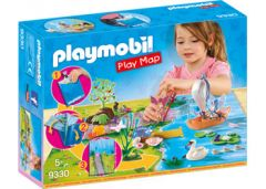PLAYMOBIL 9330 FAIRY GARDEN PLAY MAP