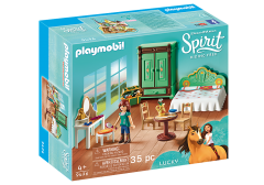 PLAYMOBIL SPIRIT 9476 LUCKY'S BEDROOM