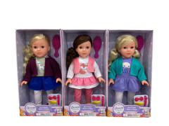 """DREAM COLLECTION 16"""" BEST FRIENDS HAIR DOLL W/ACCESSORIES ASSORTED"""