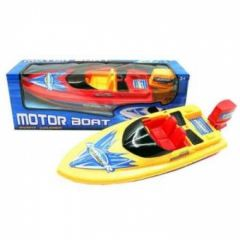 MOTOR BOAT BATTERY OPERATED