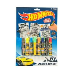 HOT WHEELS MONSTER TRUCK POSTER ART SET