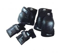 ADRENALIN SKATE PROTECTION SET SMALL BLACK
