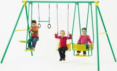 PLAYWORLD 4 UNIT SWING SET