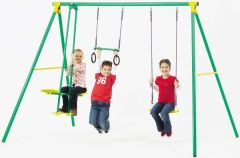 PLAYWORLD 3 UNIT SWING SET
