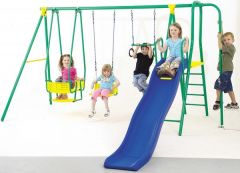PLAYWORLD 6 UNIT SWING SET