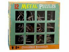 12 METAL PUZZLES