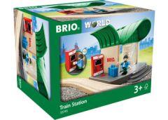 BRIO WOODEN RAILWAY - TRAIN STATION