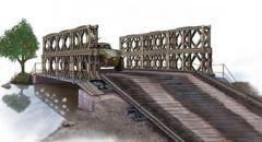 BRONCO 1:35 BAILEY TYPE DOUBLE-DOUBLE M1 PANEL BRIDGE