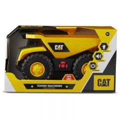 "CAT 10"" TOUGH MACHINES LIGHTS & SOUNDS DUMP TRUCK"
