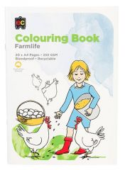 COLOURING BOOK- FARM LIFE