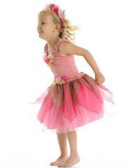 MAPLE FAIRY DRESS DUSTY PINK MEDIUM 4-6 YRS