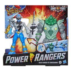 POWER RANGERS DINO FURY BLUE RANGER VS SHOCKHORN