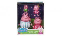 PEPPA PIG BEDTIME FAMILY FIGURE PACK