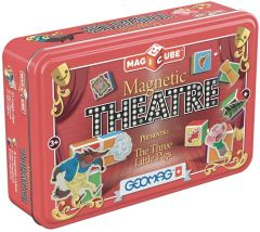 GEOMAG MAGICUBE MAGNETIC THEATRE THE THREE LITTLE PIGS