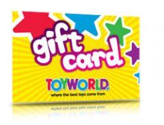 TOYWORLD GIFT CARD $50.00