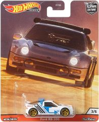 HOT WHEELS PREMIUM CAR CULTURE FORD RS 200