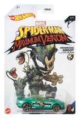 HOT WHEELS SPIDERMAN MAXIMUM VENOM VENOMIZED GROOT