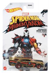 HOT WHEELS SPIDERMAN MAZIMUM VENOM VENOMIZED IRON MAN