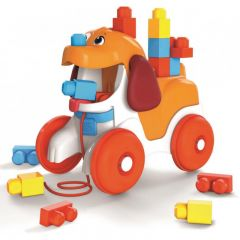 MEGA BLOKS POOPY THE PULL ALONG PUPPY
