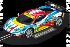 CARRERA GO 1:43 SLOT CAR FERRARI 458 ITALIA GT2