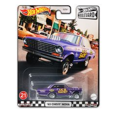 HOT WHEELS BOULEVARD '63 CHEVY NOVA