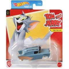 HOT WHEELS CHARACTER CARS TOM & JERRY TOM THE CAT