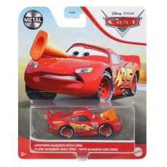 DISNEY CARS LIGHTNING MCQUEEN WITH CONE
