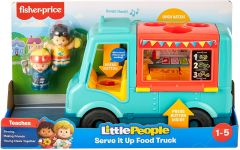 FISHER PRICE LITTLE PEOPLE SERVE IT UP FOOD TRUCK