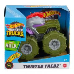 HOT WHEELS MONSTER TRUCKS TWISTED TREDZ MARVEL HULK