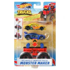 HOT WHEELS MONSTER TRUCKS MONSTER MAKER ASSORTED