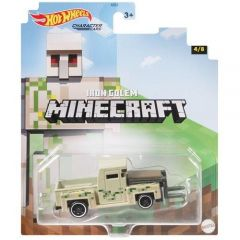 HOT WHEELS CHARACTER CARS MINECRAFT IRON GOLEM