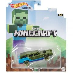 HOT WHEELS CHARACTER CARS MINECRAFT ZOMBIE