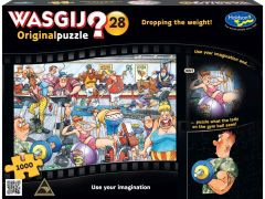 WASGIJ? 1000PC JIGSAW PUZZLE ORIGINAL #28 DROPPING THE WEIGHT!