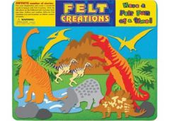 FELT CREATIONS PREHISTORIC DINOSAURS