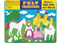FELT CREATIONS - PRINCESS CASTLE