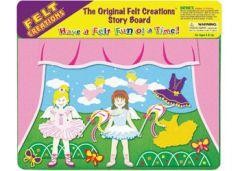FELT CREATIONS - DANCING BALLERINA