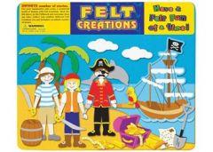FELT CREATIONS- PIRATE SHIP