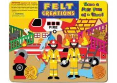FELT CREATIONS - FIRE ENGINE