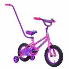 """HYPER 12"""" 30 CM BUTTERCUP GIRLS BMX BIKE WITH PARENT HANDLE"""