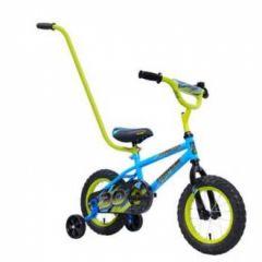 """HYPER 12"""" 30 CM LIL RACER BOYS BMX BIKE WITH PARENT HANDLE"""