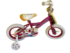 "LADYBUG 30CM (12"") BMX PINK BIKE"