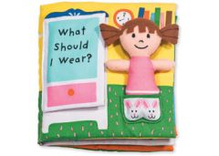 MELISSA AND DOUG- CLOTH BOOK WHAT SHOULD I WEAR?