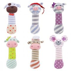 ORGANIC FARM BUDDIES SQUEEKY TOY COLLECTION ASSORTED