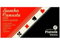 PIATNIK- SAMBA/CANASTA/BOLIVIA