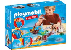 PLAYMOBIL 9328 PIRATE ADVENTURE PLAY MAP