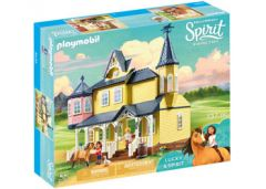 PLAYMOBIL SPIRIT 9475 LUCKY'S HAPPY HOME