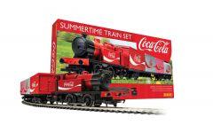 HORNBY SUMMERTIME COCA-COLA TRAIN SET