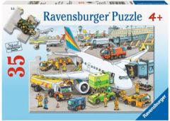 RAVENSBURGER 35PCE JIGSAW PUZZLE BUSY AIRPORT